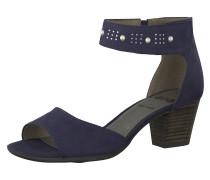 Klassische Sandaletten ultramarinblau