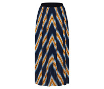 Rock 'Line skirt' navy / gelb / weiß