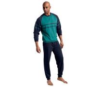 Pyjamas (2 Stck.) marine / petrol