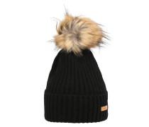 Mütze 'Augusti Beanie' schwarz