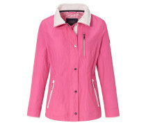 Jacke pink / weiß