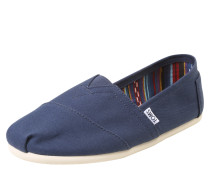 Canvas-Slipper 'alpargata' navy