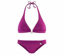 Triangel-Bikini lila