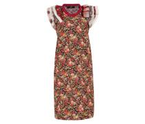 Kleid 'd-Carys' braun / rot