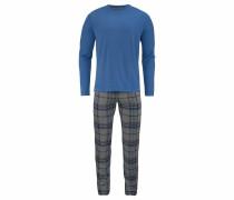 Pyjama blau / grau