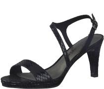 Sandale 'Asymmetrisch' schwarz