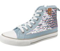 Sneaker 'Hanna Sequin' hellblau