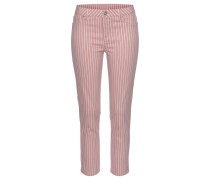 Jeggings mauve / weiß