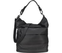 Handtasche 'Cara Glaze' schwarz