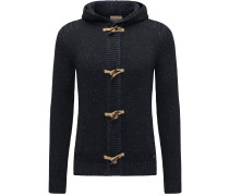Strickjacke 'Men Knitwear Hooded'