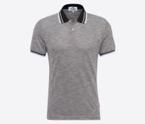 Poloshirt blau / grau