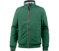 Jacke grün / rot / weiß