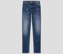 Jeans ' Mom ' blue denim