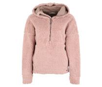 Sweatshirt 'Permafrost Half Zip' rosa