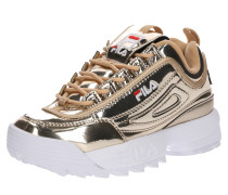 Sneaker 'Disruptor M low wmn' gold / weiß