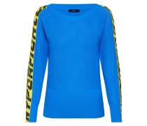 Pullover 'm-Nancy Knitwear' blau