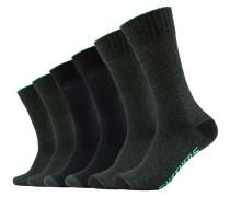 Socken Chicago im 6er-Pack schwarz