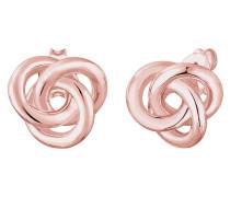 Ohrringe 'Knoten' rosegold