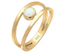Ring 'Opal' gold