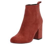 High-Heel Stiefelette bordeaux