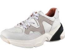 Sneakers grau / greige / schwarz / weiß