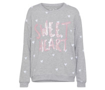 "Sweatshirt ""Sweet Heart"" grau"