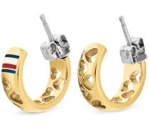 Paar Ohrstecker gold