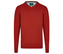 Pullover 'Essential' rot