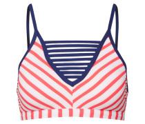 Bikinitop 'sirah' navy / pink / weiß