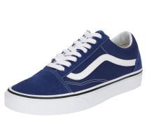 Sneaker im Retro-Look 'Old Skool' blau / weiß