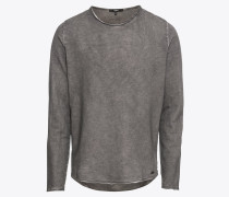 Sweatshirt 'Milo Sweat LS' anthrazit