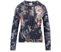 Pullover navy / rosa