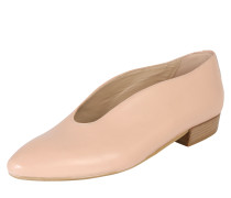 Ballerina mit Absatz rosé
