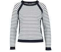 Pullover dunkelblau / offwhite