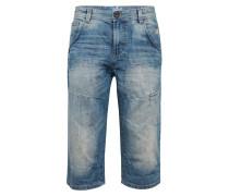 Bermuda Shorts 'Troy' blue denim