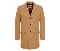 Mantel 'julian Solid Wool Coat' camel