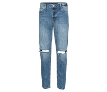 Jeans 'tapered Desblue' blue denim