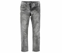 Straight-Jeans grau