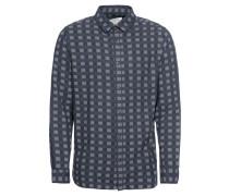 Herrenhemd 'jorijacob' dunkelblau