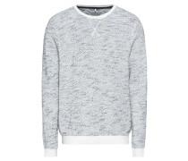 Sweatshirt indigo / weiß