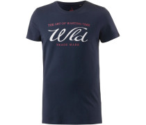 T-Shirt 'trademark' navy