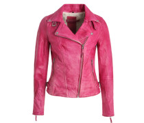 Lederjacke Sophia Thomalla Kollektion 'Fantasy' pink