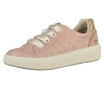 Sneaker beige / gold / altrosa