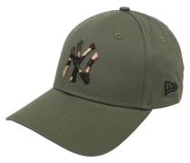 Cap schwarz / oliv