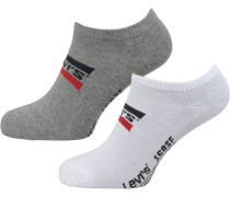 Sneakersocken '168Sf' dunkelgrau / weiß