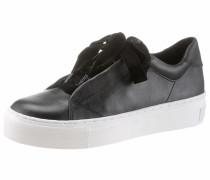 Plateausneaker schwarz / weiß