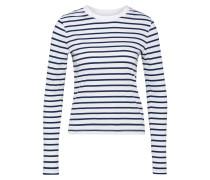 Langarmshirt 'Pixie' navy / weiß