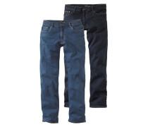 Bequeme Jeans blau / dunkelblau