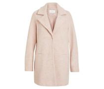 Klassischer Mantel rosa