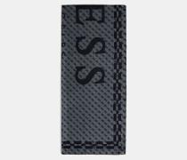 Schal dunkelgrau / schwarz